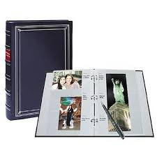 memo photo album pioneer leather 3 ring bi directional memo album 204 photos