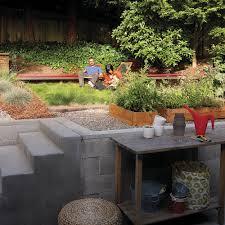 Backyard Makeover Ideas Diy Diy Yard Makeover Front To Back Sunset