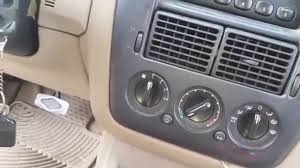 2004 ford explorer no heat clicking fix youtube