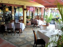 outdoor patio fine dining hospitality of cafe vico restaurant