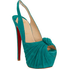 christian louboutin miss benin in green lyst