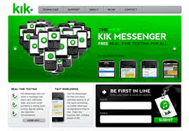 kik app android free messaging app for blackberry iphone android textmefree