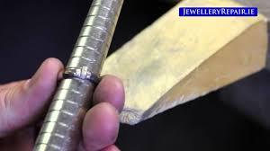 sizing gold rings images Jewellery repair resizing white gold diamond ring jpg