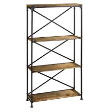 Leaning Bookcases Design Ideas For Iron Bookcase 19362