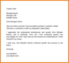 3 how to write a two week notice letter receipt templates
