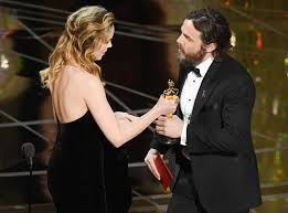 brie larson casey affleck brie larson addresses casey affleck s controversial oscars win one