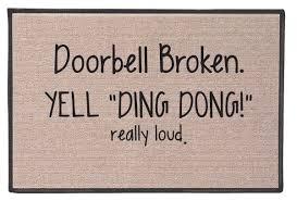 doormat funny ding dong doormat holycool net