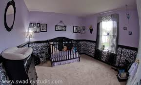 purple nursery juniper u0027s nurseryfeaturing wallcovering by
