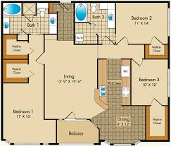 luxury apartment plans floor plans dobson mills apartments
