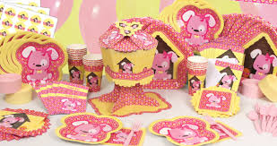 puppy party supplies celebrate with girl puppy dog party ware big dot of