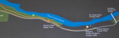 Niagra Falls Map Devil U0027s Hole State Park