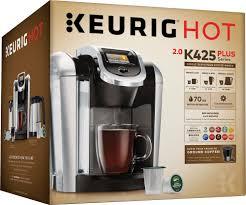 best keurig coffeemaker deals black friday keurig k425 single serve k cup pod coffee maker black 119283