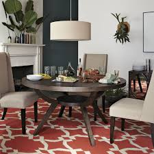 west elm round dining table arc base pedestal table west elm