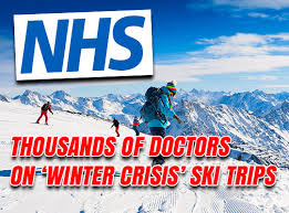 thousands of doctors on ski trips during winter crisis guido