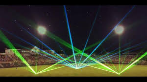 Christmas Laser Light Show Kannapolis Intimidators Holiday Laser Light Show