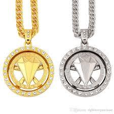 key necklace charms images Wholesale fashion design male charms hip hop chains big necklace jpg