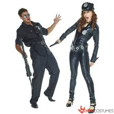 swat couple halloween costumes officer payne fancy dress costume morph costumes us