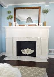 How To Resurface A Brick Fireplace by Our 200 Fireplace Makeover Marble Tile U0026 A New Mantel Young