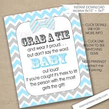 bow tie baby shower bow tie baby shower sign instant blue gray