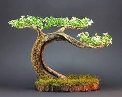 Home Decor Artificial Trees Artificial Bonsai Tree Nattol Mini Japanese Style Artificial