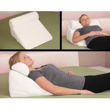 Pillow For Reading In Bed Inflatable Bed Wedge Support Pillow