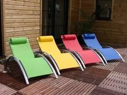 Lounge Chair Patio Comfortable Resin Textile Lounge Chair For Balcony Patio Garden