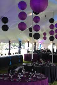 purple and grey party decorations house design ideas