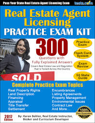 real estate agent exams