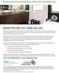 Home Warranty Protection Plans | better homes and gardens real estate home warranties
