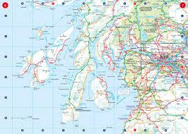 Map Scotland Collins Handy Road Atlas Scotland Amazon Co Uk Collins Maps