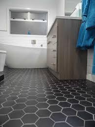 hexagonal tiles for bathroom floor room design ideas