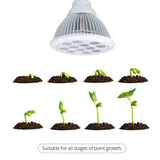 amazon com litom grow lights 36w plant growth lights e27 bulbs
