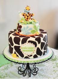 giraffe baby shower cakes butter frosting baby shower giraffe cakes images giraffe