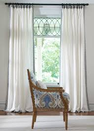 White Curtains With Blue Trim 19 Best W I N D O W Images On Pinterest Sheet Curtains Window