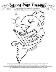 dulemba coloring tuesday fish tales