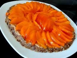 recette cuisine crue tarte crue aux coings et kakis recette de cuisine alcaline
