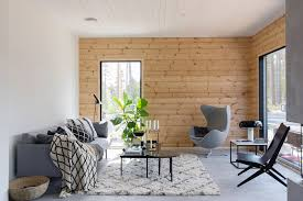 inspiration for a modern log house honka
