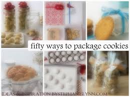 cookie gifts 50 ways to package cookies ideas inspiration for