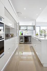 Best White Gloss Kitchens Images On Pinterest White Gloss - Contemporary white kitchen cabinets