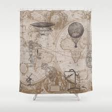 best steampunk shower curtain products on wanelo