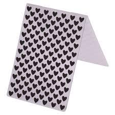 plastic photo album sweet heart plastic embossing folders template for diy