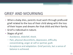 grieving the loss of a child perinatal loss and grief