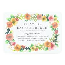 easter brunch invitations easter invitations 2400 easter announcements invites