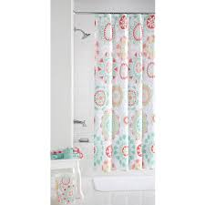 Anthropologie Ruffle Shower Curtain by Mint Colored Shower Curtain Home Living Room Ideas