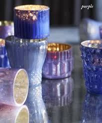 roost shimmering mercury glass votive holders shop nectar