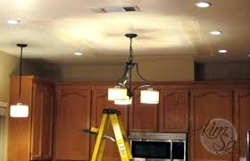 Fluorescent Light Fixtures For Kitchen How To Fix Fluorescent Light Fixture For Removing A