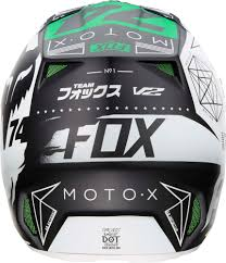 fox helmet motocross fox racing special edition v2 union monster pro circuit mx