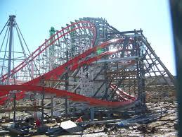 Six Flags Va 2015 Neuheit Wicked Cyclone Hybrid Coaster Rmc Six Flags New