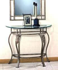 Glass Entry Table Glass Top Entry Table Foyer Modern Entry By Glass Inc