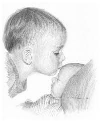 photos cute baby image in pencil sketch drawing art gallery
